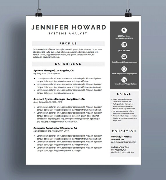 Professional Resume Templates | CV Template + Cover Letter | Modern Resume  Design | Mac or PC | Microsoft Word ("|570|618|?|en|2|5655c22782ba573befe8cea361d5c0f4|False|UNSURE|0.3442085385322571