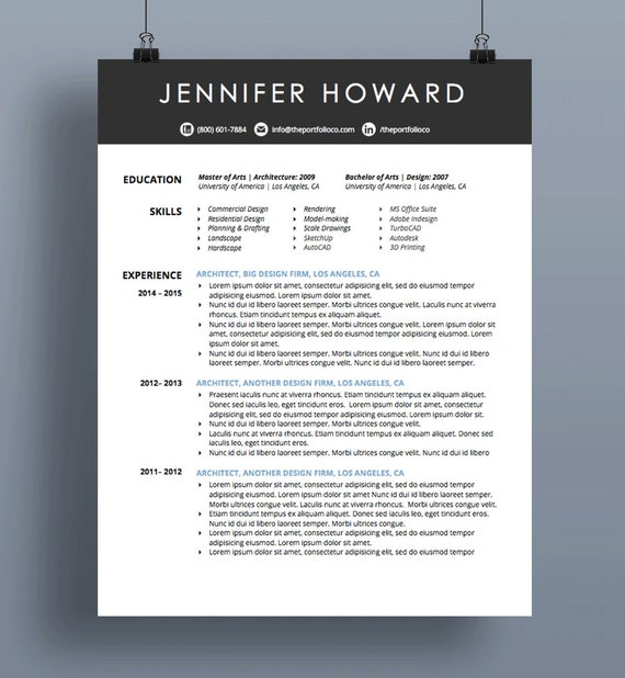 Creative Resume Template | CV + Cover Letter | Modern, Functional Resume  Designs | Mac or PC | Customizable ("|570|618|?|a0229aa0a9026912e78e4185706294fa|False|UNSURE|0.33069875836372375