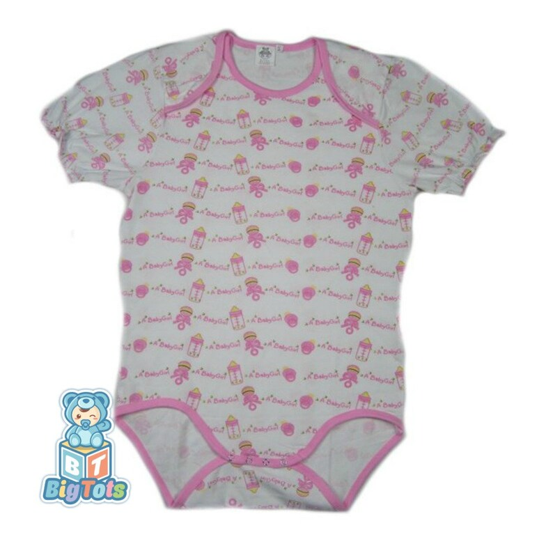 Adult Baby Its A Baby Girl Print Lap Shoulder Snap Crotch Etsy