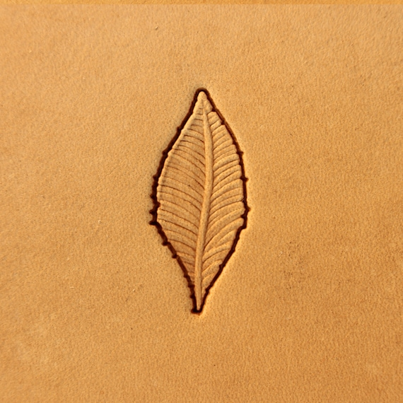 Background feather Stamp #246BB narrow Tools for leather crafts