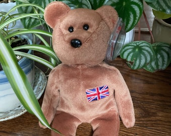 Britannia the Bear, December 15, 1999.  Free Delivery Eco-friendly social enterprise supporting community charity.
