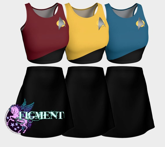 4-6 Star Trek Spock Boy/'s Shirt /& Pants Action Set toys Halloween Costume Gift