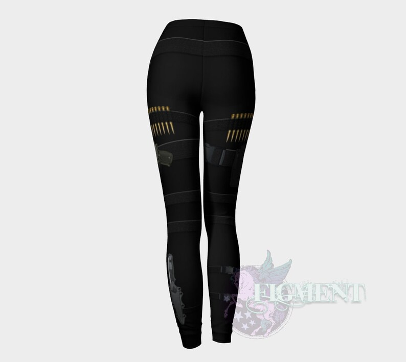Punishing Tactical Cosplay Marvel Cosplay Gun Leggings Activewear Fighter Cosplay Tactical Leggings Skull Outfit Cosplay Outfit