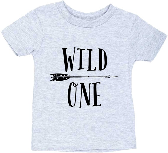 Wild One Birthday Shirt 1st