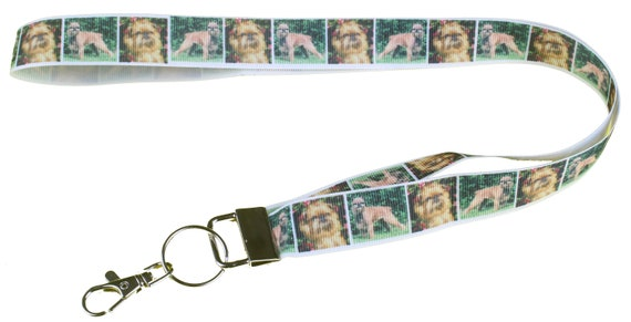 Brussels Griffon Bruxellois Breed Of Dog Lanyard Key Card Etsy