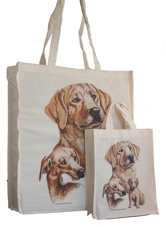 Cavalier King Charles Spaniel b Cotton Tote Bag Gusset /& Long Handles