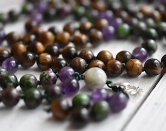 Bespoke Numerology Mala, Made to order Mala, Personalised, Gemstone Mala, Mala Bead, 108 Mala, Mala Necklace, Healing Mala, Cornwall UK