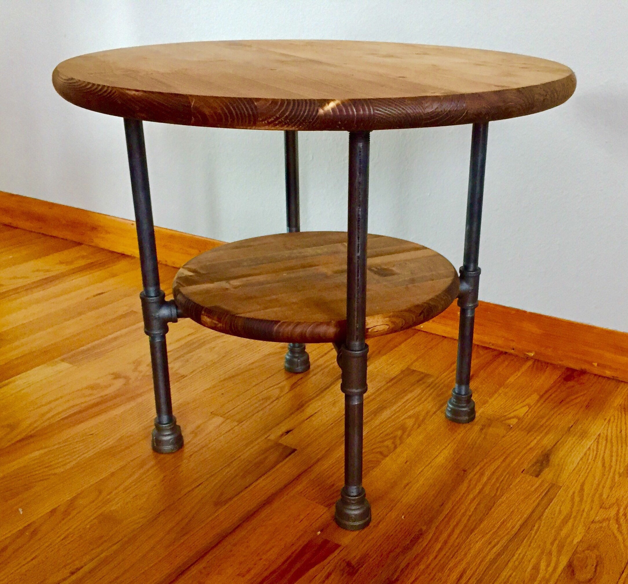 Diy Pipe Table: Black Pipe Table/Base DIY Parts Kit With Optional