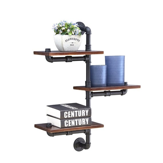 Tiered Industrial Shelving