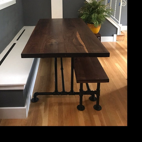 """Industrial Pipe Table Base and Bench Base """"DIY"""" Parts Kits"""