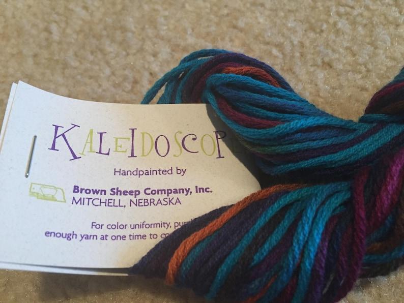 Kaleidoscope yarn Brown Sheep Co