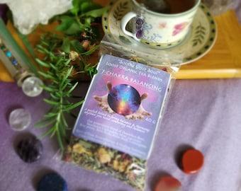 Reiki Infused Sacred 7 Chakra Balancing Tea