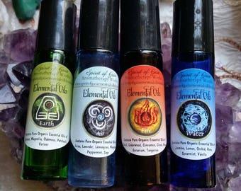Spirit of Gaia Aromatherapy Works ~  Elemental Oils