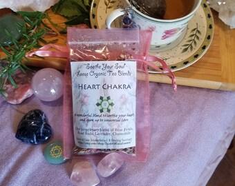 Reiki Infused Heart Chakra Tea