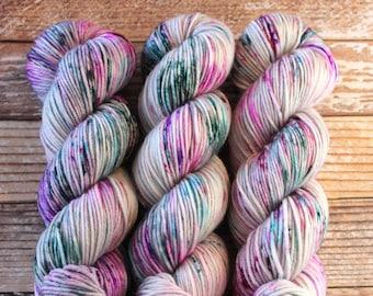 Amelia - Graffiti - Hand Dyed Yarn - 100% Superwash Merino DK weight
