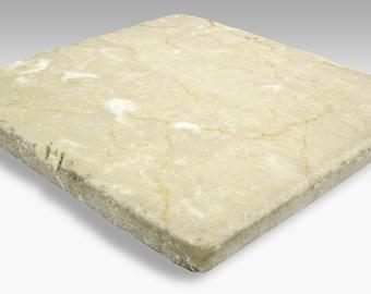 Tumbled Stone Dye Sublimation Blank Tiles  - 6 Pack