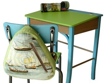 """Pupitre et chaise d'écolier """"Serge & Jane"""""""
