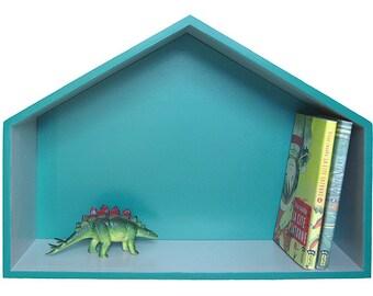 "Green house shelf ""Vicki"""