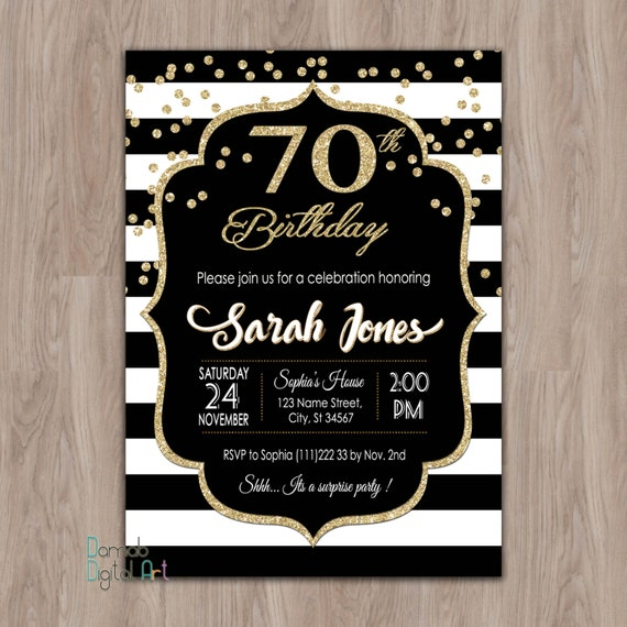 70th birthday invitation 70th birthday party invitations etsy image 0 filmwisefo
