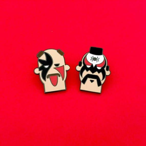 Wwe Pins Legion Of Doom Wwe Gift Wrestling Gift Hard Enamel Pin Lapel Pin Gift For Him
