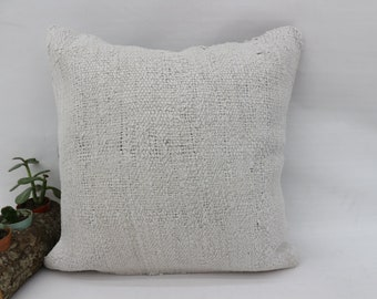 White Pillow Decorative Pillow 4178 Pillow Cover Oversize Pillow Outdoor Pillow 16x24 Kilim Pillow Hemp Pillow Wholesale Pillow