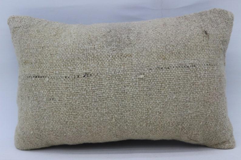 Turkish Kilim Pillow Flat Pillow 12x20 Nomadic Pillow White Pillow Lumbar Pillow Covers Wholesale Pillow Throw Pillow SP3050 3376