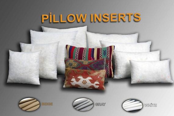 poly fill pillow insert kilim pillow