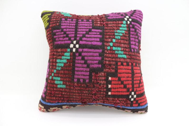 18x18 kilim pillows colorful pillows red pillow pink pillows handmade  turkish pillow kilim pillows cushion case throw pillows SP4545-2751