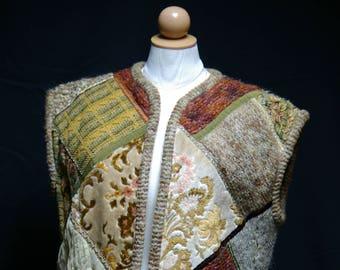 Vintage Patchwork Vest
