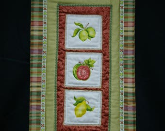 Fruit Punch Textile Wall Hanging