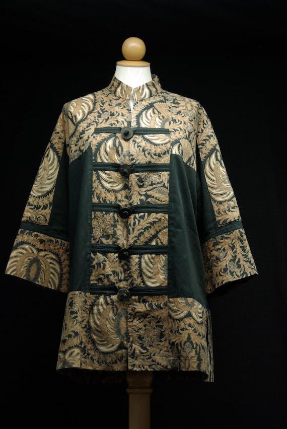Batik Nehru Style Jacket