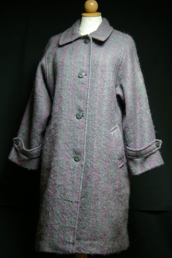 Vintage Luxury Scottish Mohair Coat