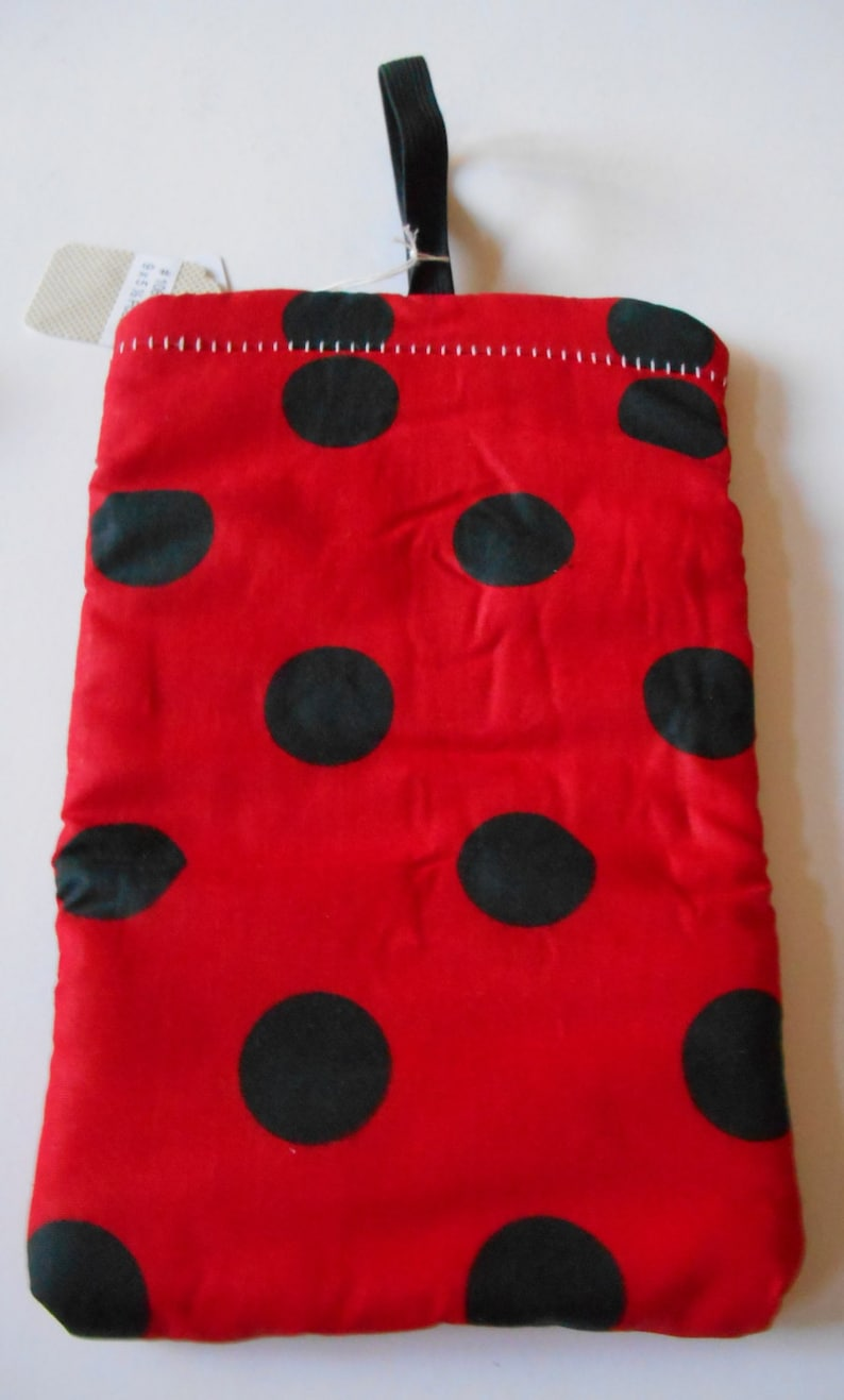 Lady Bug Pipe Pouch