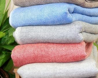 Sofa Soft Cashmere Blanket Throws 100/% Handwoven Cashmere Travel Wrap Big Shawl Throws Warm Home Decor Bedding