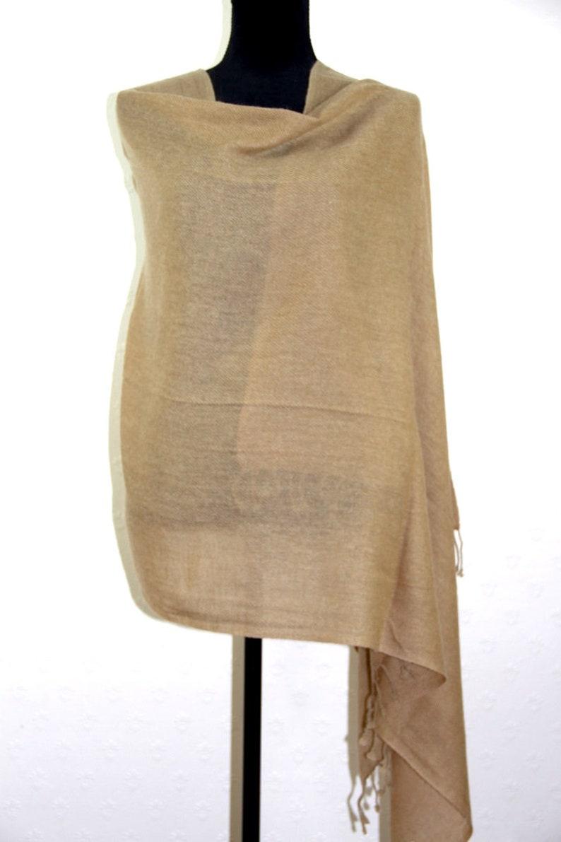 Soft Warm Cashmere Pashmina Bridesmaid Bridal Shawl Wrap Scarf Super Soft Light Fringed Elegant Accessory