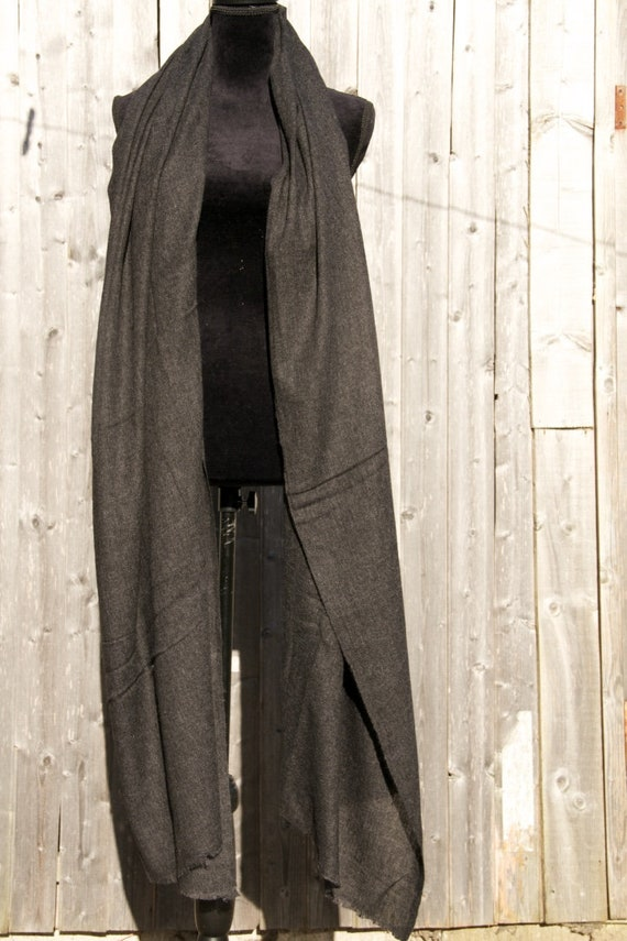 Large Ladies Luxury 100/% Cashmere Shawl In dark chocolate Handcrafted In Nepal