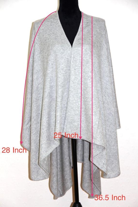 Blanket Pashmina Poncho Cashmere Wrap Shawl Poncho Ladies Cashmere Handmade 100 Serape Cape Travel Poncho fqSXvRw