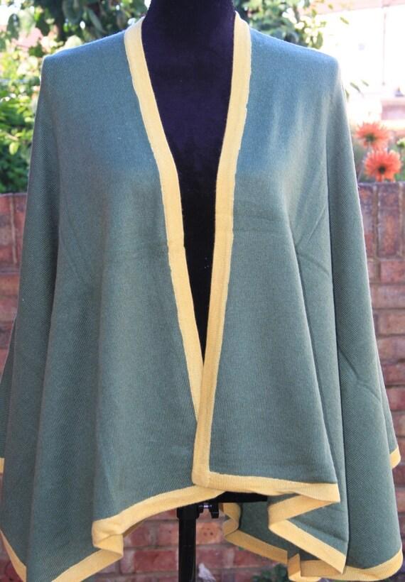 Cape Blanket Nepal Poncho Wrap Coat Serape Cashmere Pashmina Oversized size Poncho Ladies One Wool Handwoven ZwPEqU