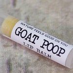 Goat Poop ~ Organic Herbal Lip Balm, Perfect Christmas Gift for Goat Lovers, Mom Presents, Animal Lover, Under 5 Gifts, Stocking Stuffers