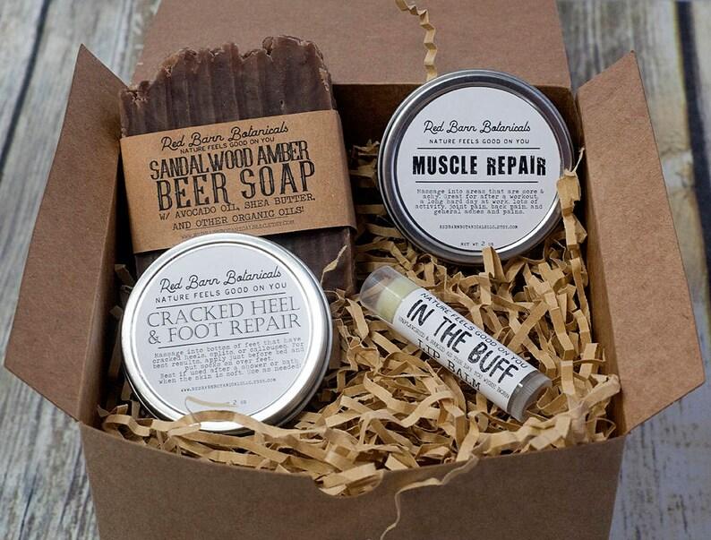 3b571eabc9e4 Organic Sandalwood Gift Box for Dad Christmas Present For