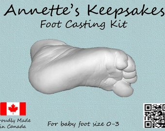 Baby foot Casting kit