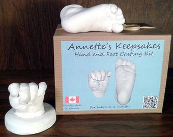 Baby hand and foot casting kit up to 6 months
