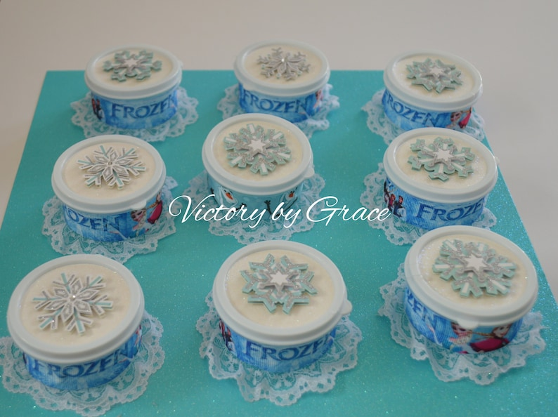 Frozen Party Favor Ana and Elsa Candy Favor Frozen Birthday Favor Frozen Fiesta, Frozen Party 15 Frozen Candy Favor Container