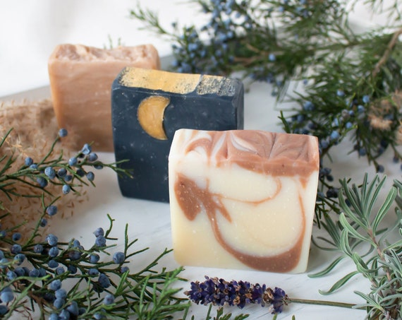 Essential Oil Soap Bundle | Vegan Handmade Soap
