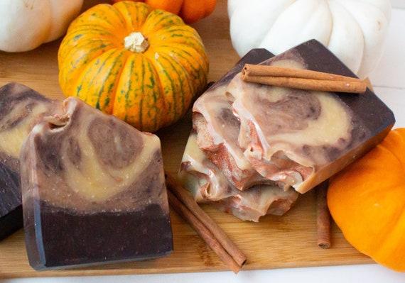 Pumpkin Spice Vegan Artisan Soap