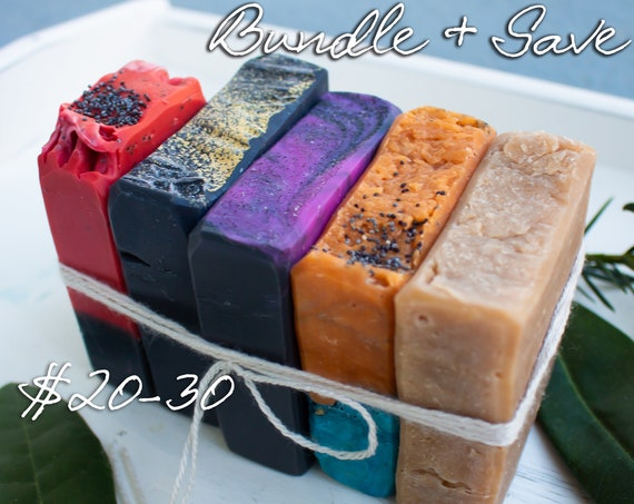 Choose Your Own Bundle | Vegan Handmade Soap