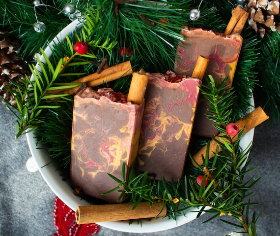 Wassail Cider   Vegan Handmade Soap