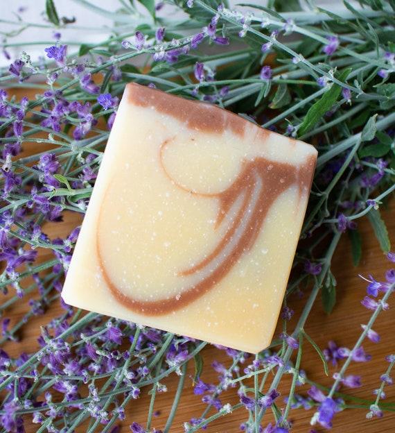 Lavender Lemongrass Vegan Artisan Soap