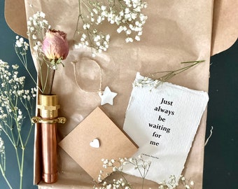 Copper Wall Hanging Vase Gift Box