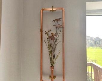 Copper Framed Botanical Wall Art